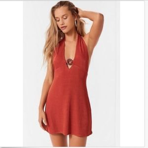 NWT Urban Outfitters Jane ORing Halter Dress Jrs S